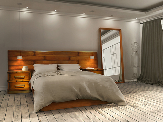 Tuesta Dormitorio JT Jt Cerezo Natural Madera Maciza Envejecido Vintage Clasico