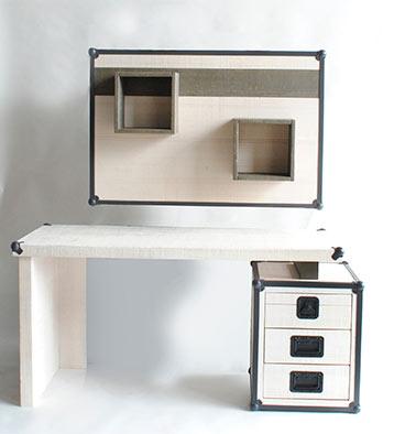 Tuesta-dormitorio-juvenil-rock-personalizado-pino-blanco-mesa-estudio-panel-suspendido