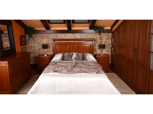 Tuesta Mueble Dormitorio Daniel Rustico Roble Armario 1