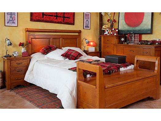 Tuesta Mueble Dormitorio Daniel Rustico Roble Comoda Sinfonier
