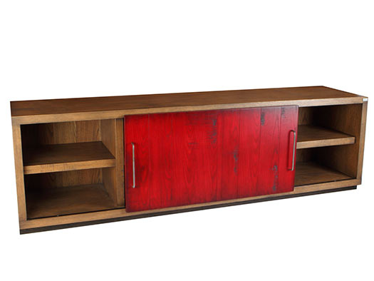 Tuesta Mueble Salon Colors Industrial Roble Vintage Diseo Tv Television